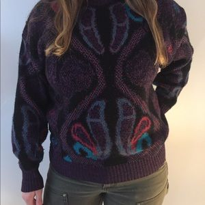 VINTAGE 90s funky sweater